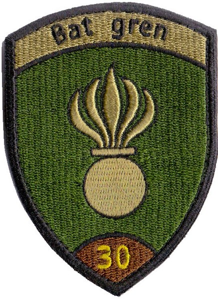 Photo de Badge Grenadier Bataillon 30 Armée suisse