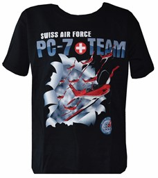 Bild von T-Shirt PC7-Team Swiss Air Force
