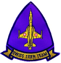 Picture of Swiss Tiger Team Patch