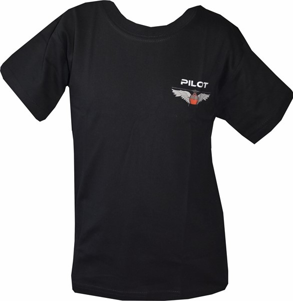 Picture of Helikopter Wing T-Shirt Kinder schwarz