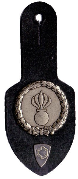 Picture of Grenadier breast pocket tags