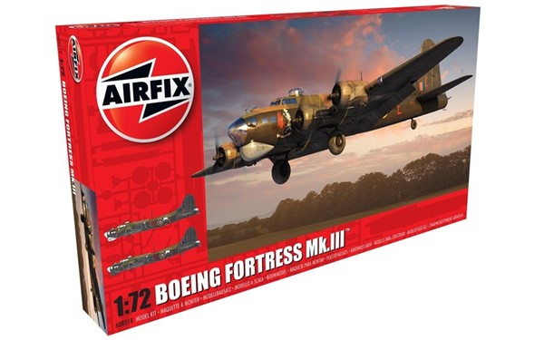 Picture of Boeing B-17 Flying Fortress Mk.III Bomber Modellbausatz 1:72 Airfix