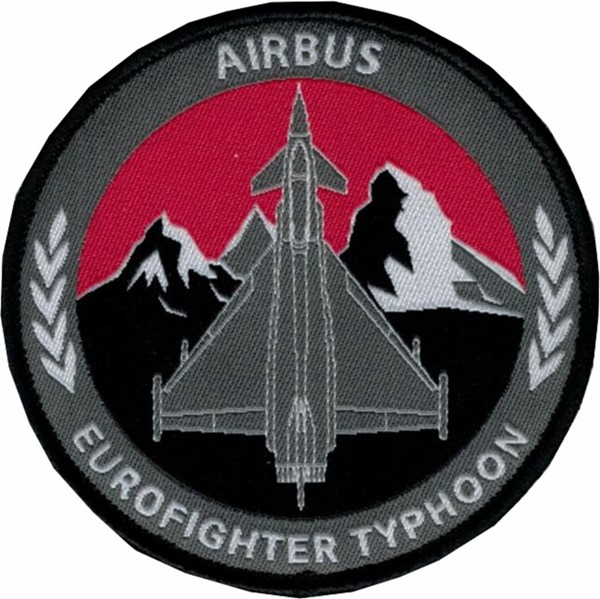 Photo de Airbus Eurofighter Typhoon Patch gewoben