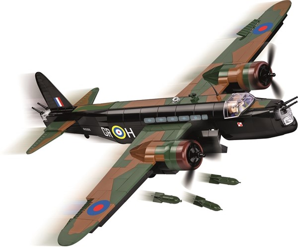 Photo de Vickers Wellington maquette avion a construction Cobi blocs