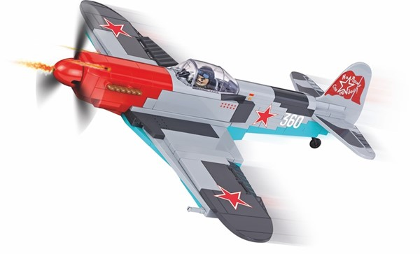 Picture of Cobi Yakovlev YAK-3 WWII Baustein Set