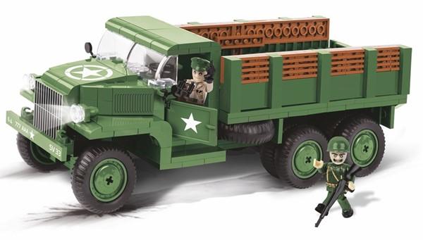 Picture of Cobi GMC CCKW 353 Transport LKW US Army WWII Baustein Set