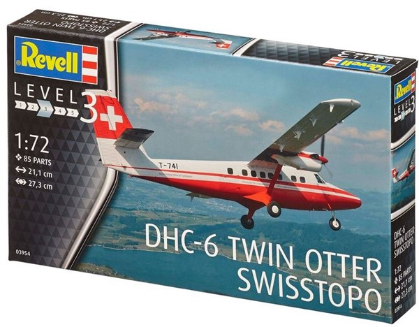 Photo de Maquette DHC Twin Otter Airfix echelle 1/72