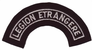 Photo de Fremdenlegion Ärmelaufnäher Legion Etrangere