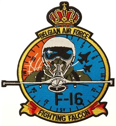 Photo de Belgian Air Force Patch F-16 Fighting Falcon Abzeichen