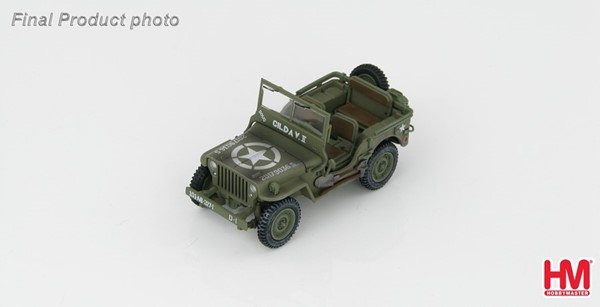 Picture of Willys Jeep die cast model Hobbymaster
