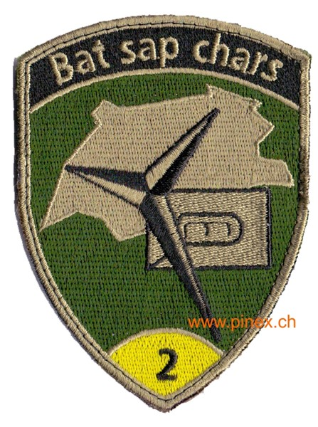 Picture of Bat sap chars 2 gelb mit Klett