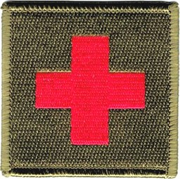 Picture of Paramedic Patch olive