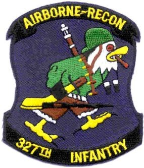 Picture of 327th Airborne Infanterie Division Airborne-Recon Abzeichen