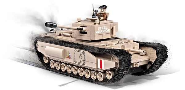Picture of Churchill I Panzer Baustein Bausatz Cobi World of Tanks