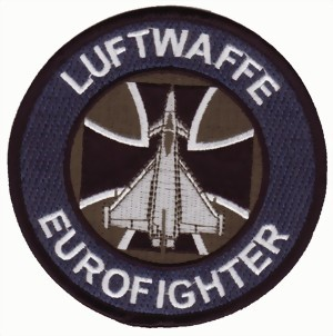 Photo de Eurofighter Luftwaffe Systemabzeichen grau