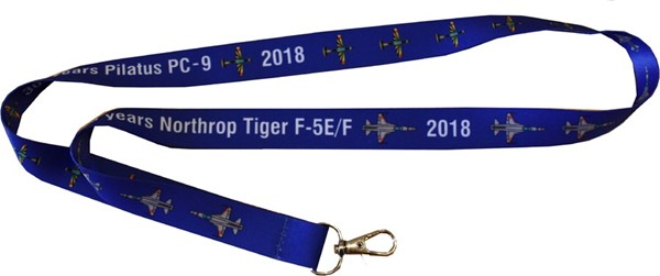 Photo de Tiger F5E / PC-9 Jubiläum Lanyard