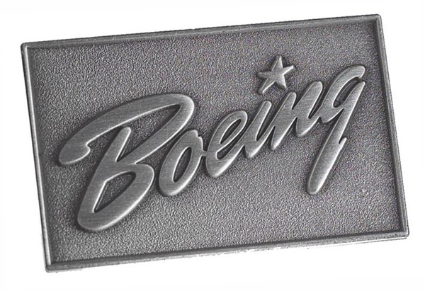 Picture of Boeing Logo Pin silber, 35mm