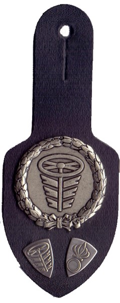 Picture of Motor vehicle driver breast pocket tag Swiss Army