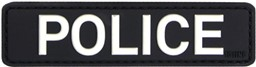 Photo de Police Polizeiabzeichen PVC Rubber