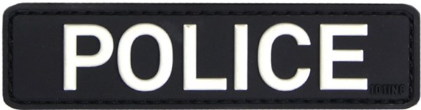 Picture of Police Polizeiabzeichen PVC Rubber