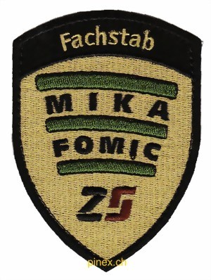 Photo de Badge Fachstab Mika mit Klett