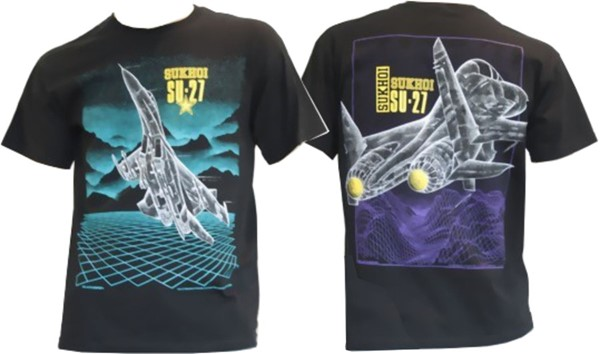 Picture of Suchoi Su 27 T-Shirt