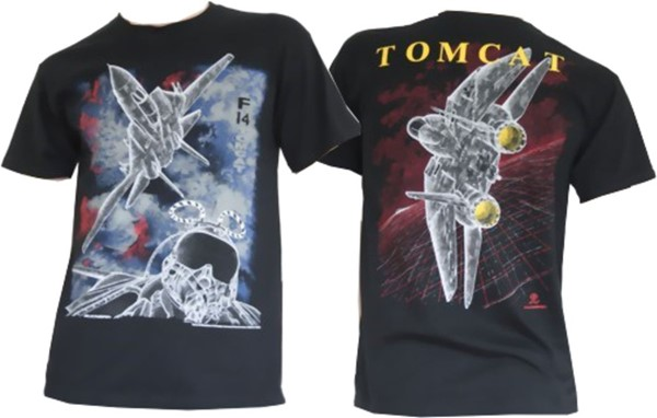 Picture of F14 Tomcat T-Shirt Blackbird