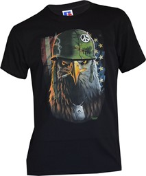 Picture of US Army Eagle T-Shirt schwarz