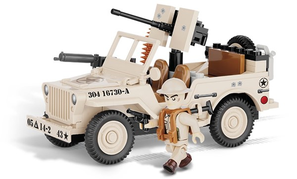 Picture of Cobi Willys Jeep Nord Afrika 1943 US Army WWII Baustein Set