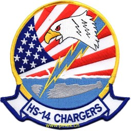 Photo de HS-14 Chargers Anti U-Boot Helicopter Squadron Abzeichen