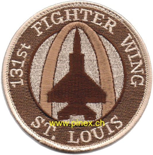 Bild von 131st Fighter Wing St. Louis US Air Force Abzeichen