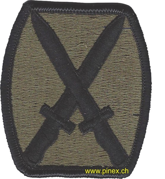 Picture of 10th Mountain Division OD Patch Abzeichen