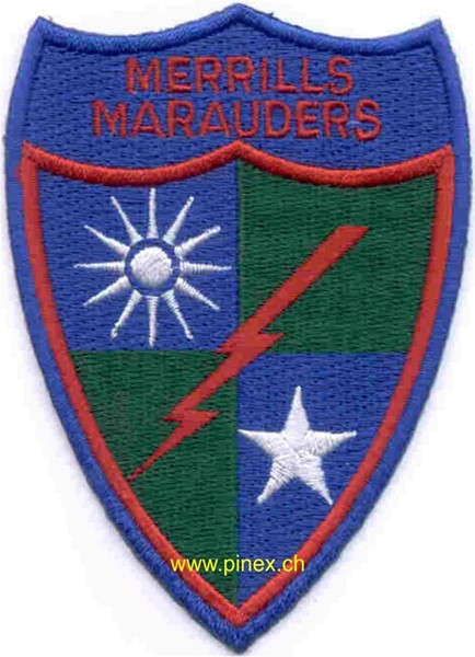 Photo de 5307th Long Range Penetration Special Operations Patch Merrills Mauders Abzeichen