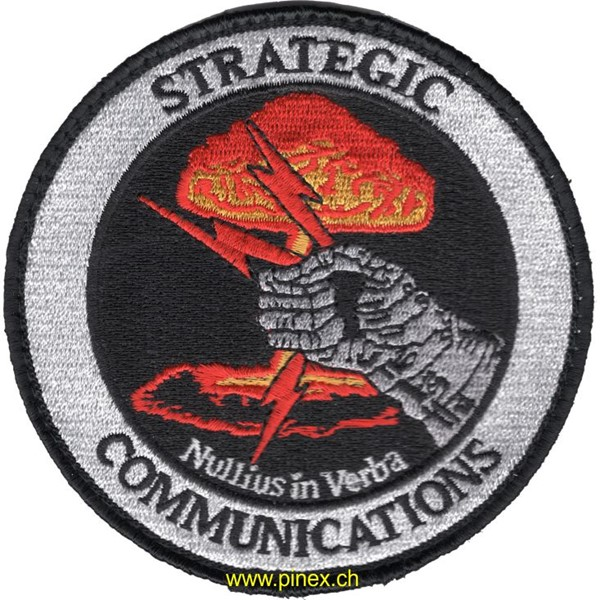 Picture of Strategic Communications Patch Nullius in Verba Abzeichen