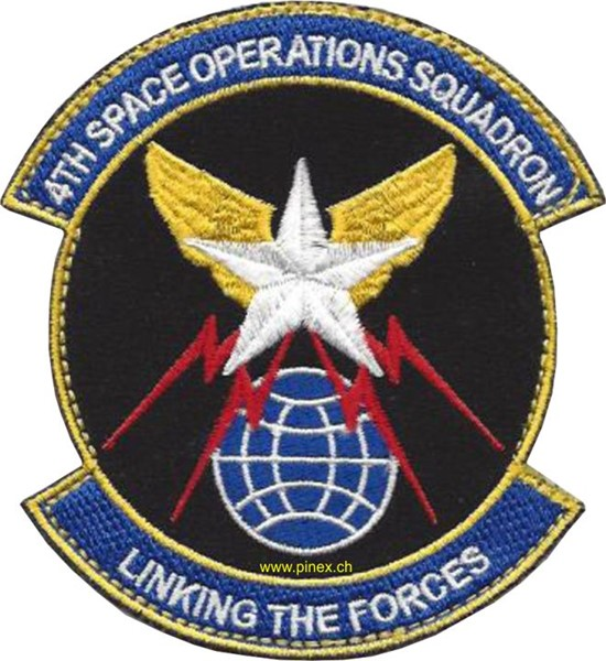 Picture of 4th Space Operations Squadron Linging the Forces Abzeichen