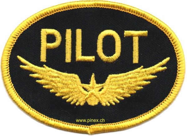 Photo de Piloten Abzeichen Patch oval