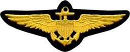 Picture of US Navy Pilot Wings Aufnäher Abzeichen