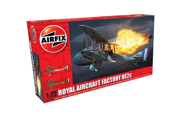Photo de Royal Aircraft Factory BE2c Night Fighter Modellbausatz 1:72 Airfix