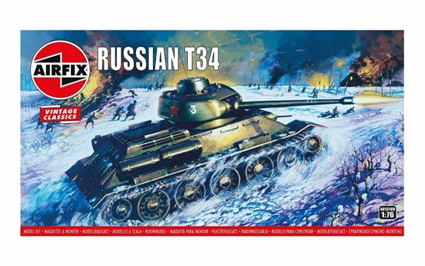 Photo de Maquette a monteur Airfix Russian T34/85 1:76