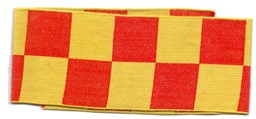 Picture of Armbinde Gelb / Rot Schweizer Armee