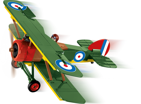 Photo de Cobi 2975 Sopwith F.1 Camel RAF WWI Baustein Set