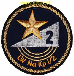 Photo de LW Na Kp 1-2 Fliegerabwehr Badge