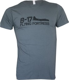 Picture of B-17 Flying Fortress T-shirt grau