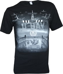Picture of 75 Jahre D-Day Normandie T-Shirt schwarz
