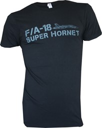 Picture of F/A-18 Super Hornet T-shirt schwarz