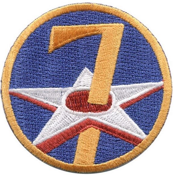 Photo de 7th Air Force Schulterabzeichen WWII Patch