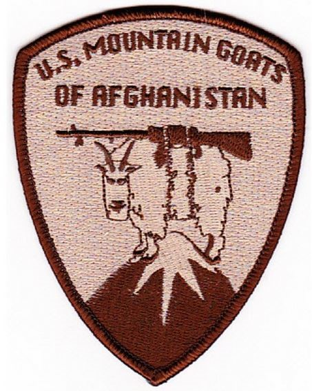 Photo de US Mountain Goats of Afghanistan Desert Patch Abzeichen US Army
