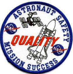 Photo de NASA Astronaut Safety Quality Mission Success Patch Abzeichen