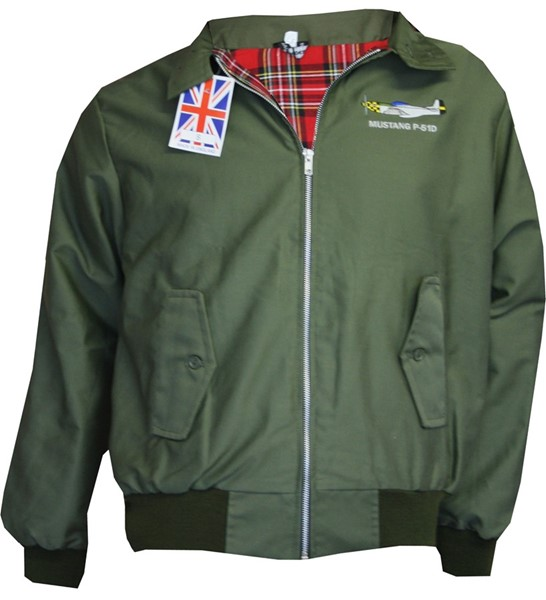 Photo de Hawker Hunter veste Classic Harrington