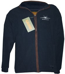 Photo de F/A 18 Hornet Fleece Jacke Stanton Game, Navyblau